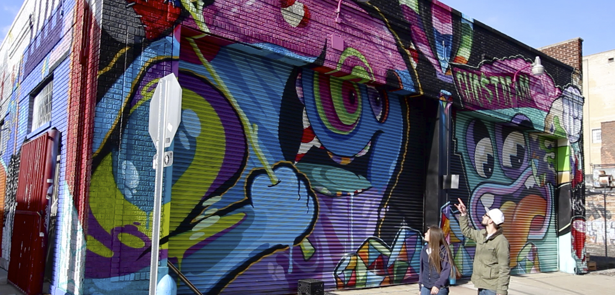 Painting the Town: The Street Art of Detroit